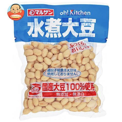 マルサンアイ 国産水煮大豆 150g×20袋入