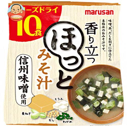 マルサンアイ 香り立つ ほっとみそ汁 10食×6袋入