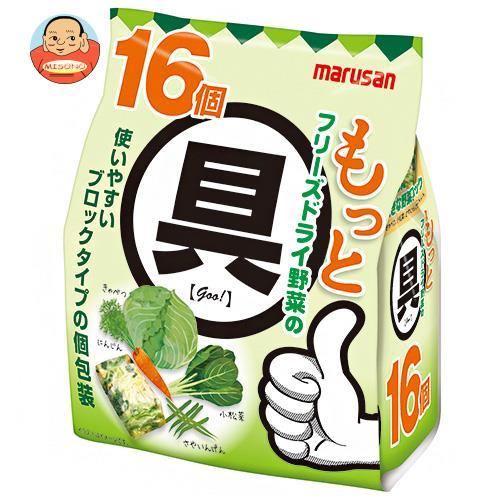 マルサンアイ もっと フリーズドライ野菜の具 16個×6袋入