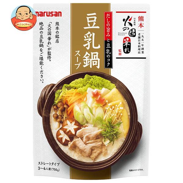 マルサンアイ 火の国華れ監修 豆乳鍋スープ 750g×10袋入