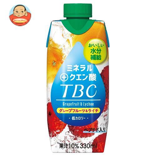 森永乳業 TBC ミネラル+クエン酸(プリズマ容器) 330ml紙パック×12本入