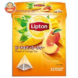 リプトン ピーチ&マンゴーティー ティーバッグ 12袋×6個入