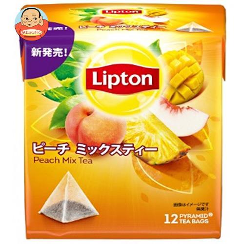 リプトン ピーチミックスティー ティーバッグ 12P×6箱入