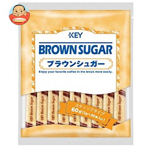 KEY COFFEE(キーコーヒー) ブラウンシュガー スティックタイプ (3g×20P)×30袋入