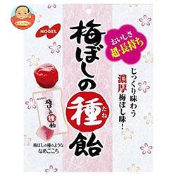 ノーベル製菓 梅ぼしの種飴 30g×6袋入