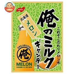 ノーベル製菓 俺のミルク 北海道メロン 80g×6袋入