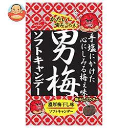 ノーベル製菓 男梅ソフトキャンデー 35g×6袋入