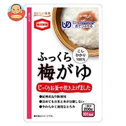 亀田製菓 ふっくら梅がゆ 200gパウチ×24(6×4)袋入