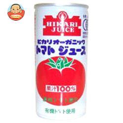 光食品 オーガニックトマトジュース 有塩 190g缶×30本入