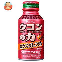 ハウスウェルネス ウコンの力 カシスオレンジ味 100mlボトル缶×60本入