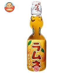 ハタ鉱泉 瓶ラムネ オレンジ味 200ml瓶×30本入