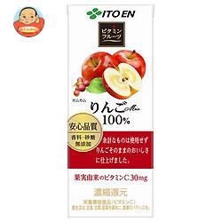 伊藤園 ビタミンフルーツ りんごMix 100% 200ml紙パック×24本入