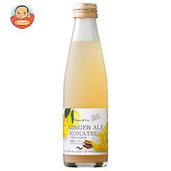 マルカイ Dean&Co.(ディーンアンドコー) 小夏&シナモンジンジャーエール 195ml瓶×24本入