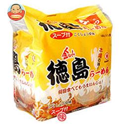 徳島製粉 金ちゃん 徳島らーめん 5食パック×6個入