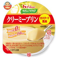 ハウス食品 やさしくラクケア クリーミープリン カスタード風味63g×48(12×4)個入
