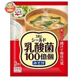 永谷園 1杯にシールド乳酸菌100億個みそ汁 45.6g(3食)×10袋入
