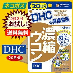 【全国送料無料】【ネコポス】【2袋】DHC 濃縮ウコン 20日分 40粒×2袋入