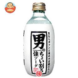 木村飲料 カクテス 男のちょい割る強ソーダ 300ml瓶×24本入