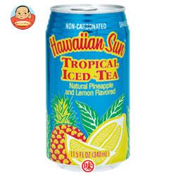 ハワイアンサン トロピカル・アイスティ 340ml缶×24本入