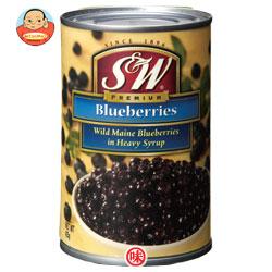 リードオフジャパン S&W ブルーベリー 4号缶 425g×12個入