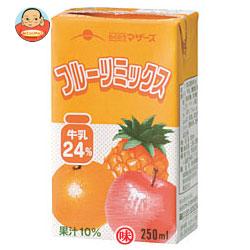 らくのうマザーズ フルーツミックス 250ml紙パック×24本入