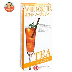 三井農林 ホワイトノーブルリキッドティー アールグレイ無糖1L紙パック×12(6×2)本入