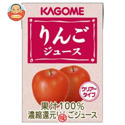 カゴメ りんごジュース100ml紙パック×36(18×2)本入