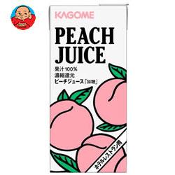 カゴメ ピーチジュース(ホテルレストラン用) 1L紙パック×12(6×2)本入