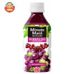 コカコーラ ミニッツメイド 朝の健康果実100% カシス&グレープ 350mlペットボトル×24本入