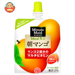 コカコーラ ミニッツメイド 朝マンゴ180gパウチ×24本入