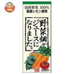 ふくれん 野菜畑からジュースになりました。200ml紙パック×24本入
