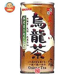 サンガリア 一休茶屋 おいしい烏龍茶 190g缶×30本入
