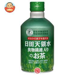 日田天領水 食物繊維入りのお茶300gボトル缶×24本入