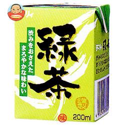南日本酪農協同(株) デーリィ 緑茶 200ml紙パック×24本入