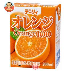 南日本酪農協同 デーリィ オレンジ100 200ml紙パック×24本入