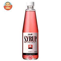 アサヒ シロップ桃600ml瓶×12本入