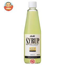 アサヒ シロップゆず600ml瓶×12本入