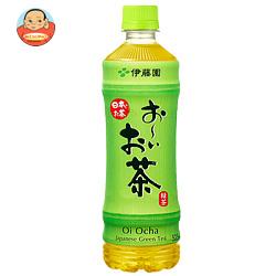 伊藤園 お~いお茶 緑茶【手売り用】 525mlペットボトル×24本入