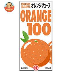 マルサンアイ(株) オレンジ1001000ml紙パック×12(6×2)本入
