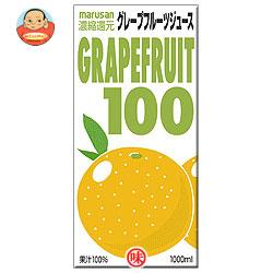 マルサンアイ(株) グレープフルーツ1001000ml紙パック×12(6×2)本入