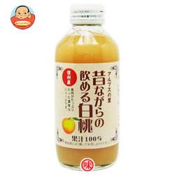 (株)アルプス アルプスの里 昔ながらの飲める白桃180ml瓶×24本入