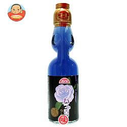 大川食品工業 バラの香りのラムネ 200ml瓶×30本入