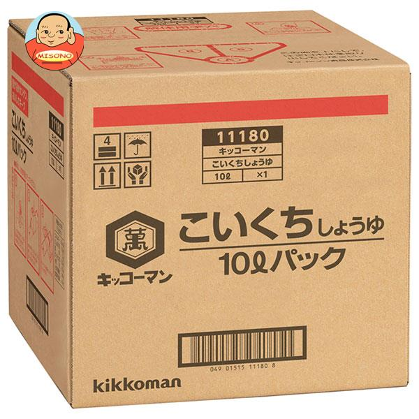 キッコーマン こいくちしょうゆ 10Lパック×1箱入