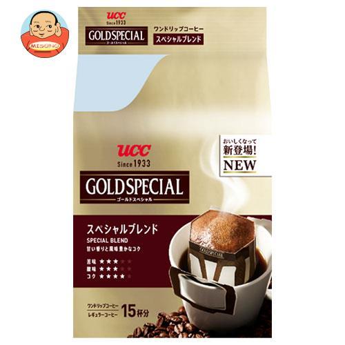 UCC ゴールドスペシャル ドリップコーヒー スペシャルブレンド 15P×6袋入