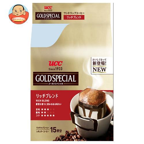 UCC ゴールドスペシャル ドリップコーヒー リッチブレンド 15P×6袋入