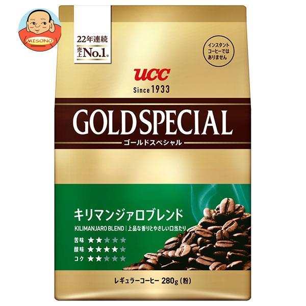 UCC ゴールドスペシャル キリマンジァロブレンド(粉) 400g袋×12袋入
