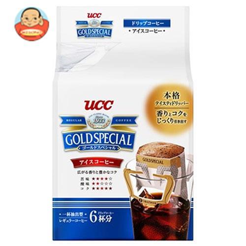 UCC ゴールドスペシャル ドリップコーヒー アイスコーヒー (7g×6P)×6袋入