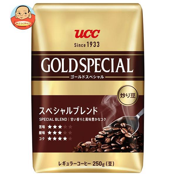 UCC 炒り豆ゴールドスペシャル スペシャルブレンド(豆) 360g袋×12袋入