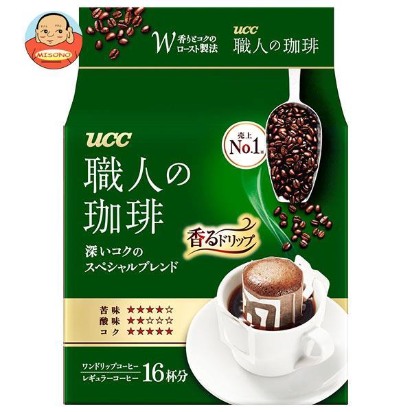 UCC 職人の珈琲 ドリップコーヒー 深いコクのスペシャルブレンド 18P×12(6×2)袋入