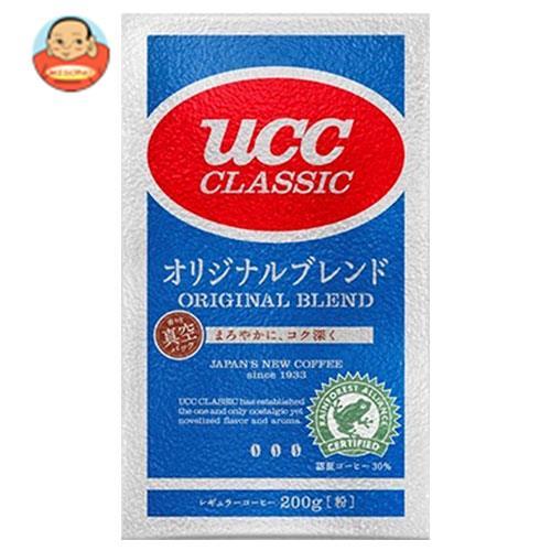 UCC クラシック オリジナルブレンド(粉) 200g袋×24袋入
